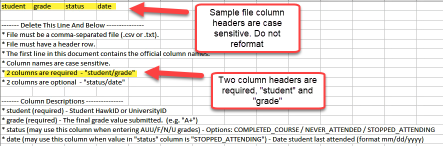 image of csv sample file